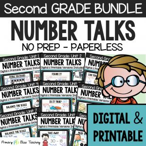 Second Grade Number Talks Bundle