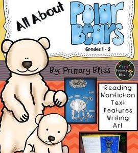 Polar Bear Reading And Writing Unit