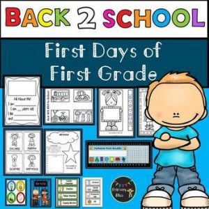 Back to School Activities - Lessons & Community Building