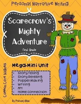 Scarecrow Personal Narrative Writing Story Telling & Art Unit