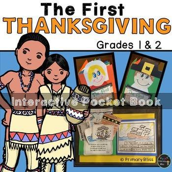 The First Thanksgiving Interactive Pocket Book (Common Core Aligned)