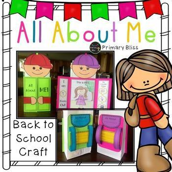 All About Me Bag - Back to School Activity