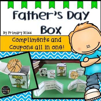 Father's Day Craft Box with Compliments and Coupons