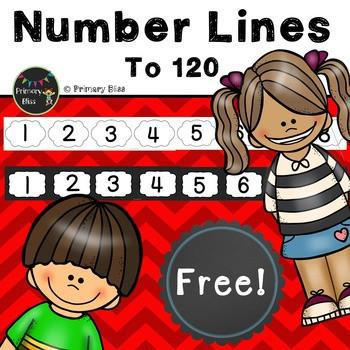 Number Line To 120