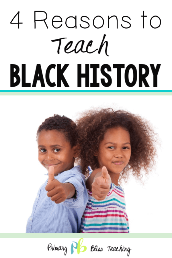 black history in first grade