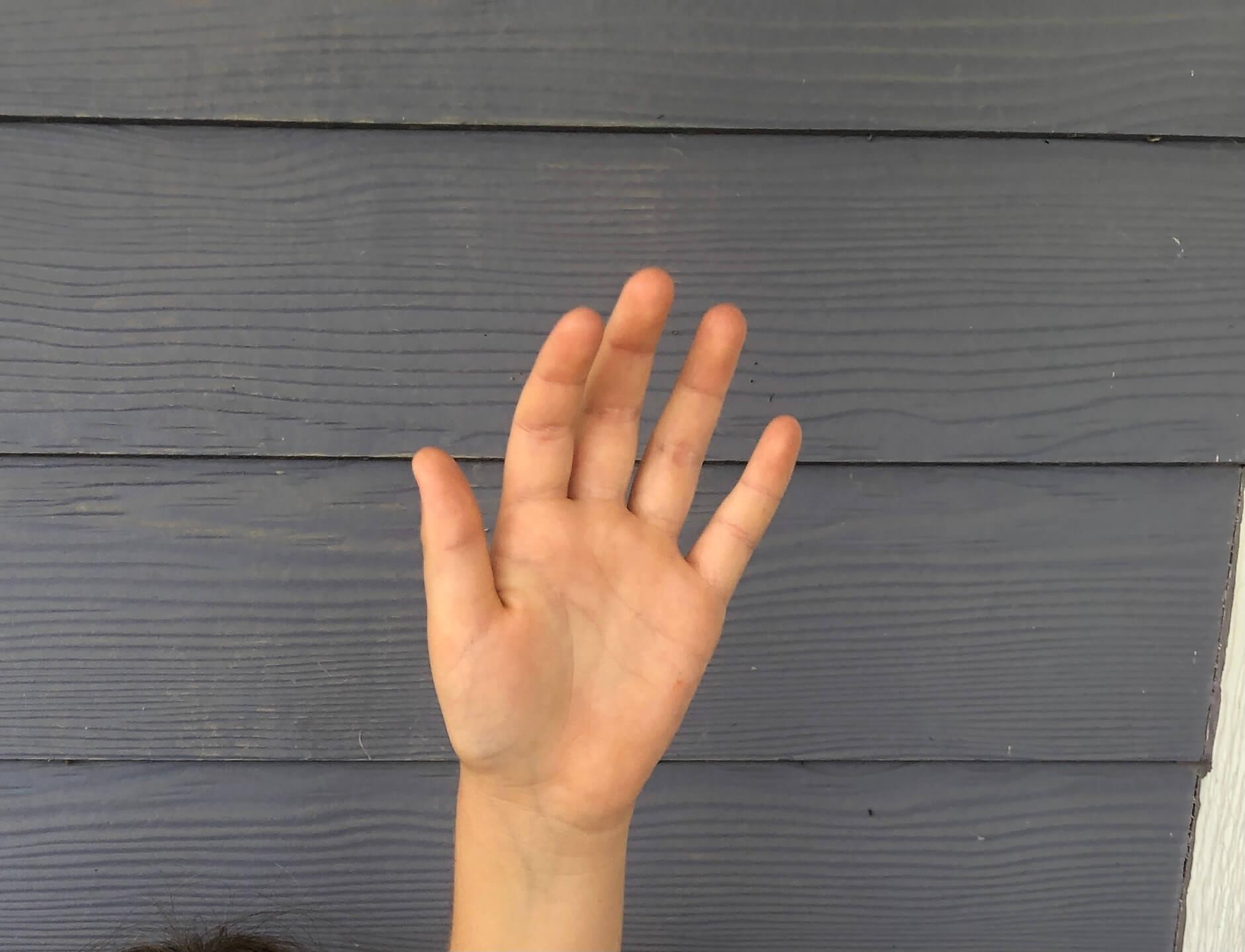 number talk silent hand signal