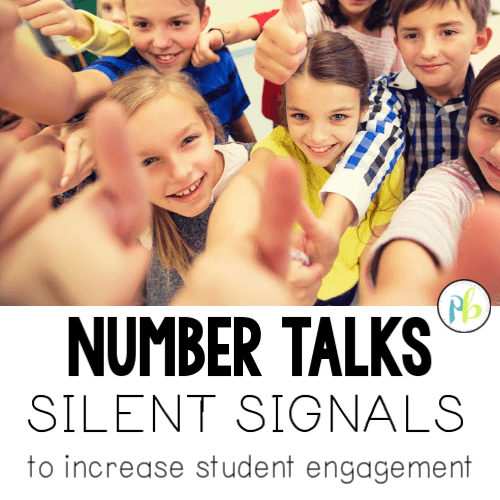 Number Talks: Silent Signals to Increase Student Engagement
