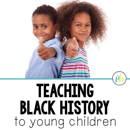 Black History Lessons for First Grade and Second Grade