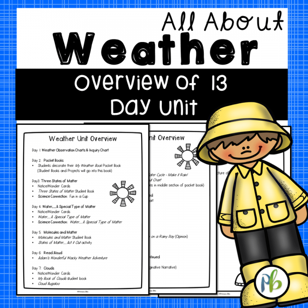 Weather Unit for First and Second Grade