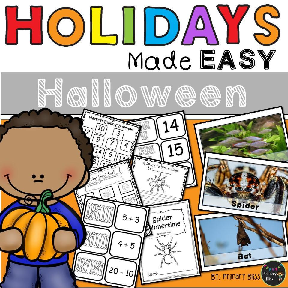 Halloween: Holidays Made Easy (Grades 1 & 2)
