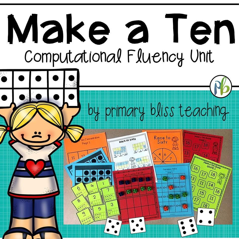 Make a Ten Computational Fluency Unit (Making Ten)