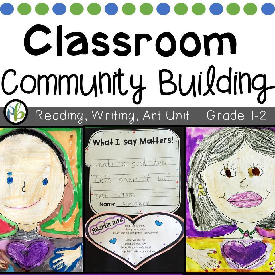 Classroom Community Building Unit (Back to School Activities)