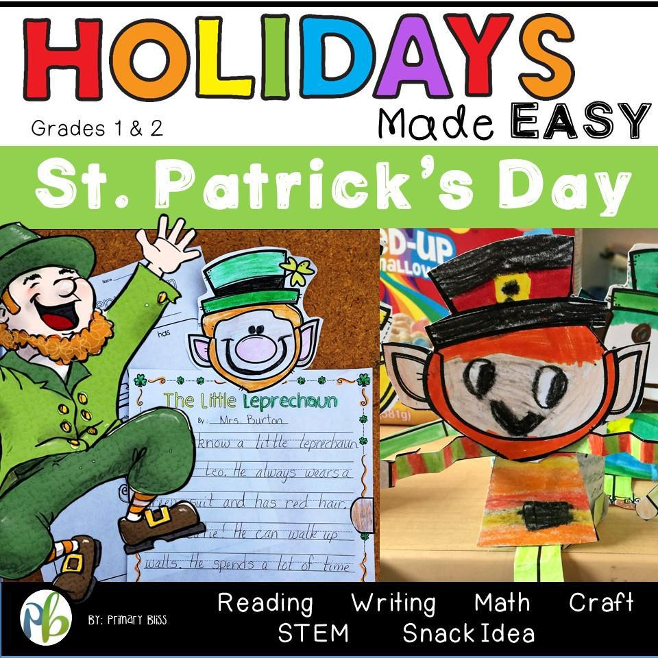St. Patrick's Day: Holidays Made Easy (Grades 1 & 2)