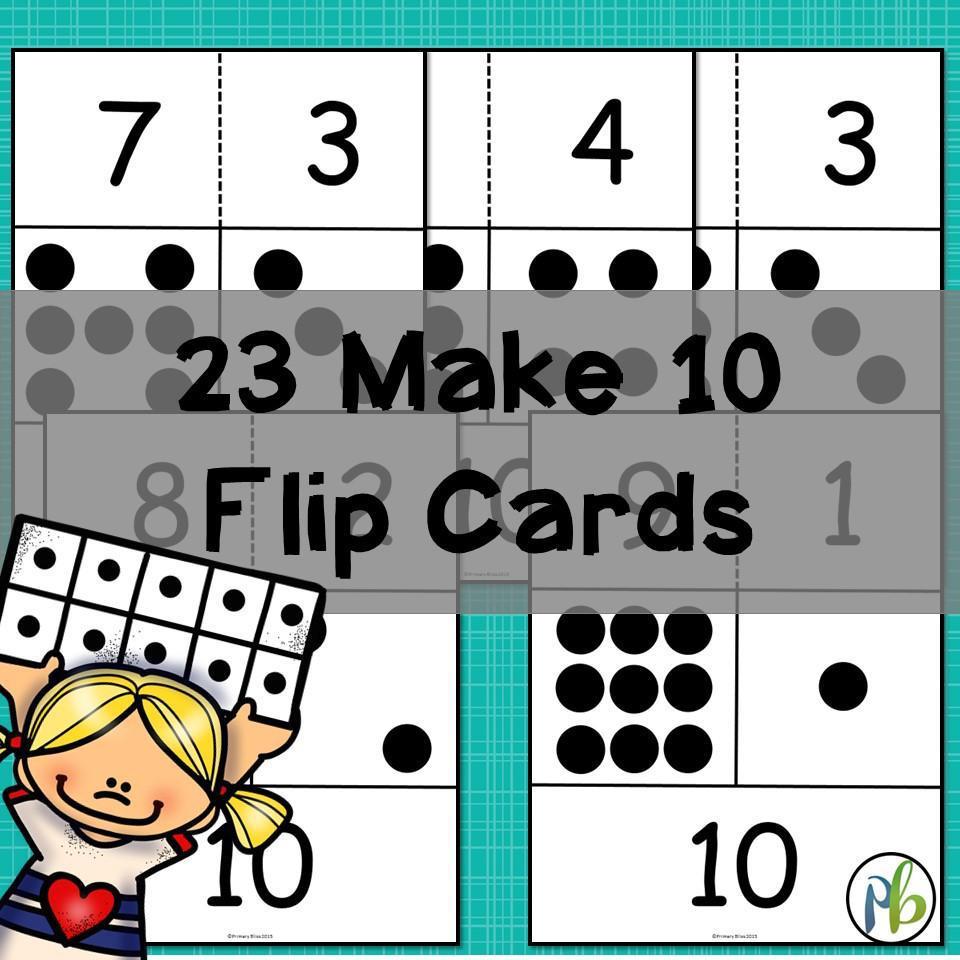 Make a Ten Computational Fluency Unit (Making Ten)