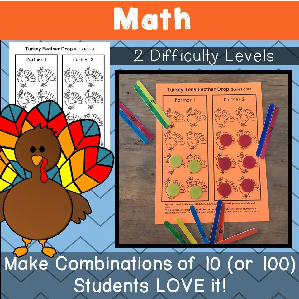 Thanksgiving : Holidays Made Easy (Grades 1 & 2) Reading, Writing, Math & Craft