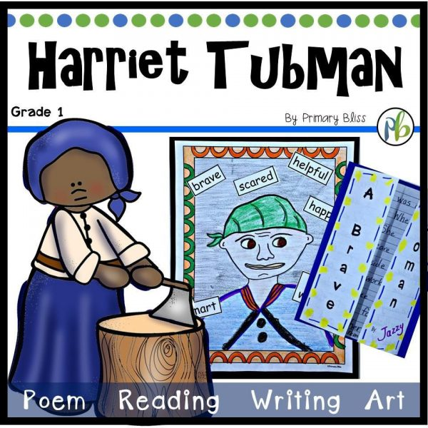 Harriet Tubman Activities - First Grade Unit