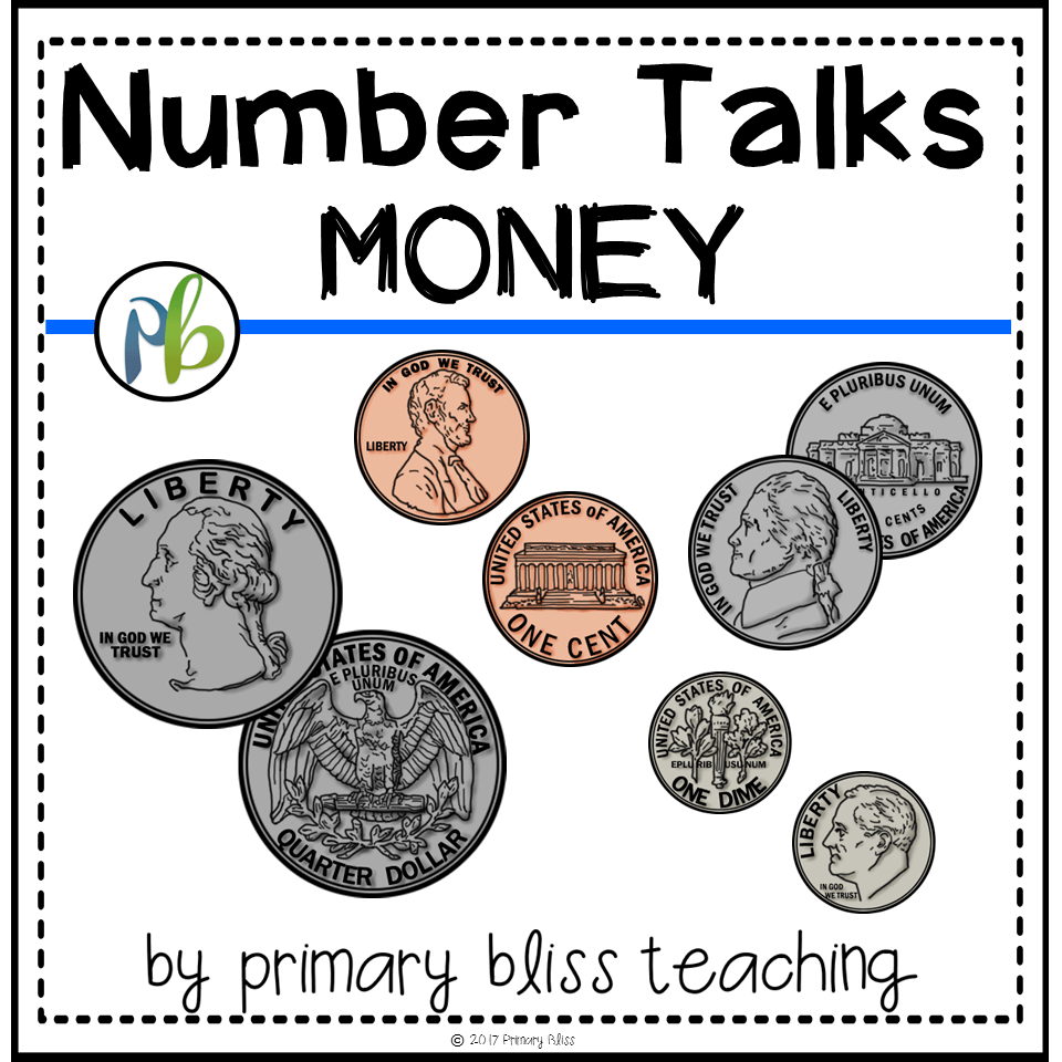 Number Talks - Money Skill Focus (Digital & Printable)
