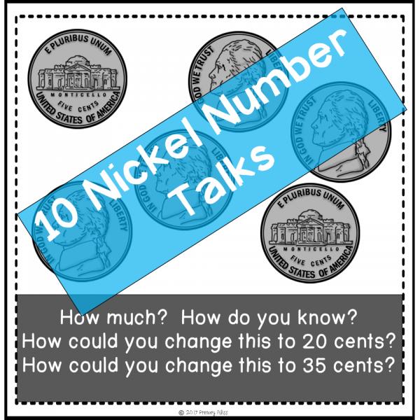 Number Talks - Money Skill Focus (Digital & Printable)