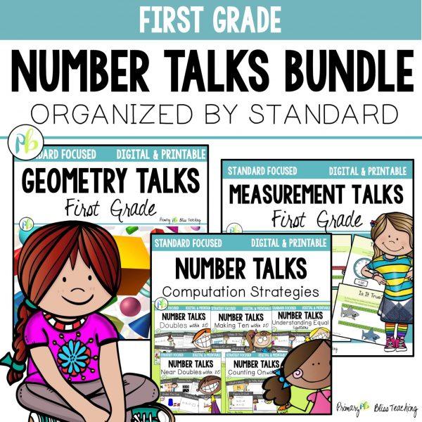 first grade number talks