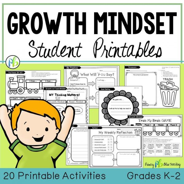 Growth Mindset - Lessons and Activities (Grades K-2)