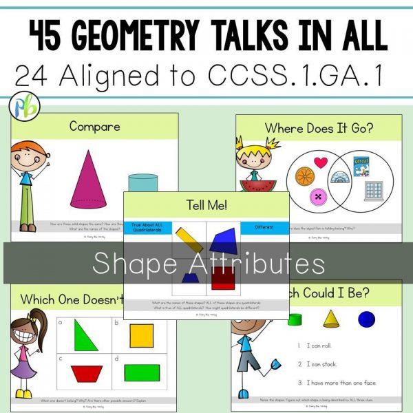 First Grade Geometry Talks
