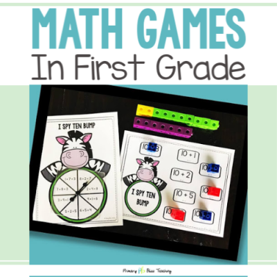 4 Reasons to Use Math Games in First Grade