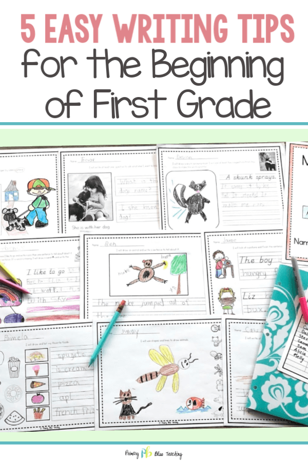 5 First Grade Writing Tips