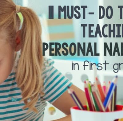 11 Must-Do Tips for Teaching Personal Narratives in First Grade